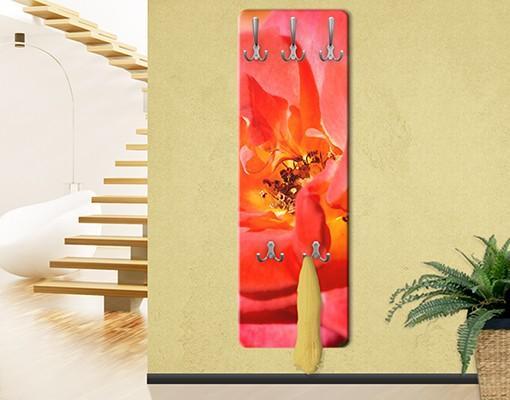 Vešiak na stenu No.YK19 ružový sen