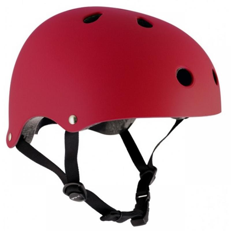 Prilba SFR Essentials Matt Red helmet S/M