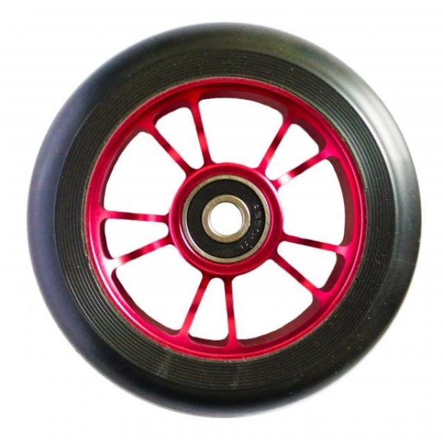 Blunt 10 Spokes 100 mm Wheel Red