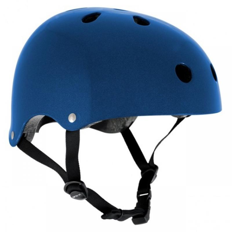 Prilba SFR Essentials Metallic Blue Helmet S/M