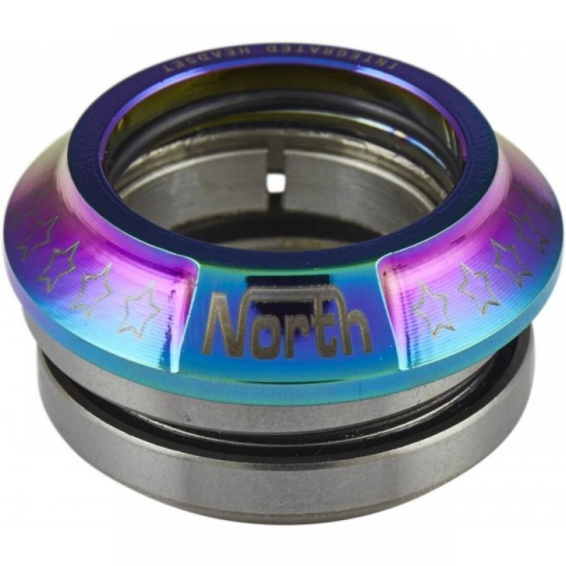 North Integrated Headset Oil Slick