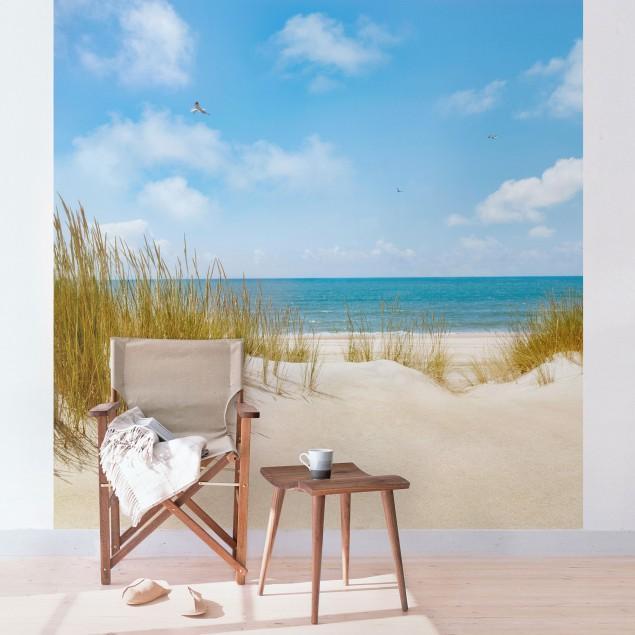 70ad2aa7b87 ... Fototapeta štvorcová Pláž Severu