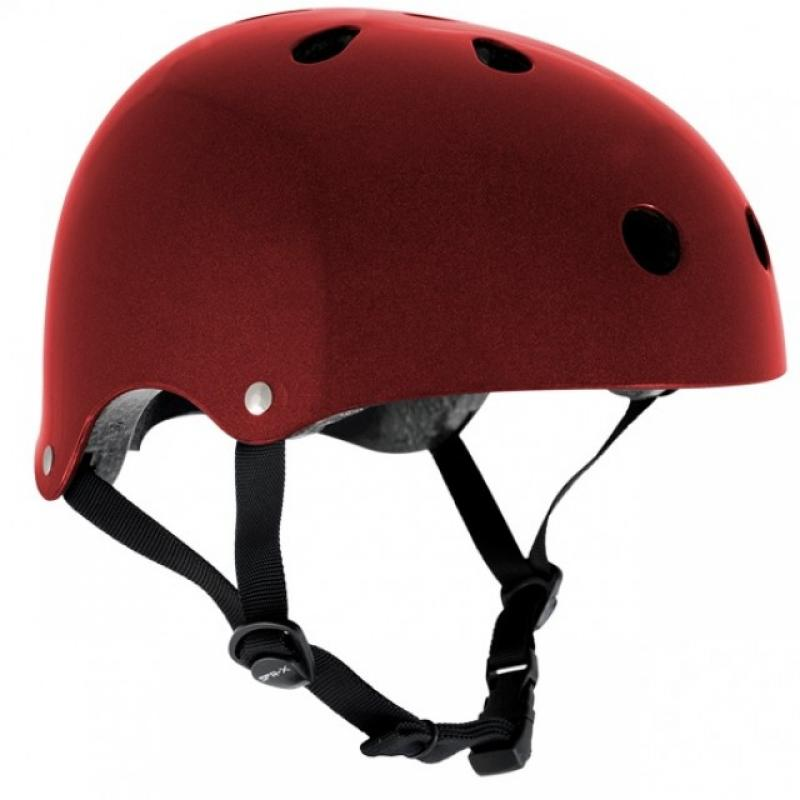 Prilba SFR Essentials Metallic Red Helmet S/M