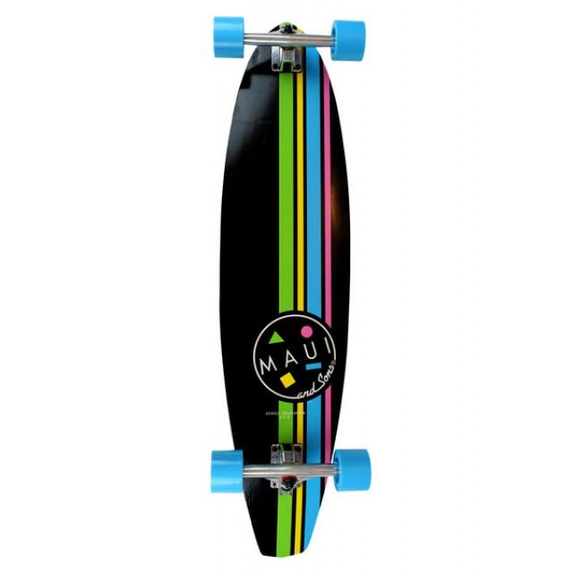 Longboard Maui Cookie Stripe Kicktail
