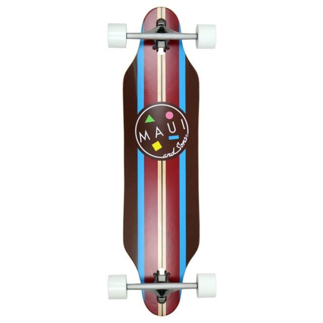 Longboard Maui Big Time Cutout