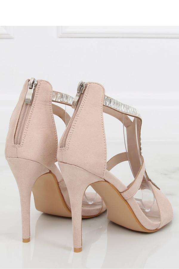 fd7bd0780d2c Sandále na opätkoch model 130393 Inello
