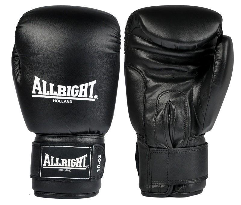 fdc7a8cbbf1 Boxerské rukavice ALLRIGHT kožené 10 oz